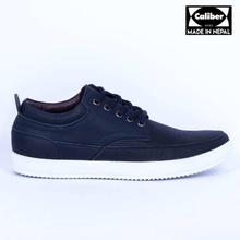 Caliber Shoes Blue Casual Lace Up Shoes For Men - (536 O)