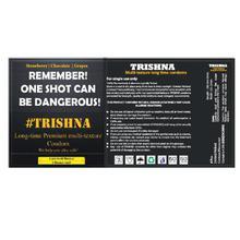Trishna Long Time Multi Texture Multi Flavour Dotted Condoms (Strawberry,Chocolate,Grape) - 6 Pcs