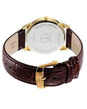 Titan Men'S 1488Yl03 Orion Classic Slim Watch