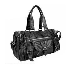 Black PU Leather Business Bag For Men