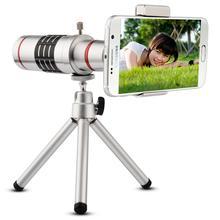 18x Optical Telephoto Zoom Tripod Camera Photo Smartphone Len