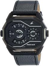 3094NL02 Black Dial Chronograph Watch For Men - Black