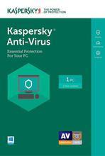 Kaspersky Antivirus For 1 User