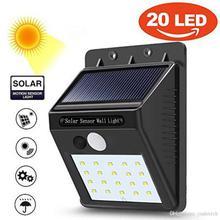 Motion Sensor Solar Outdoor LED Light