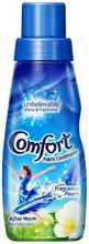Comfort After Wash Morning Fresh Fabric Conditioner(Blue) - 220 ml