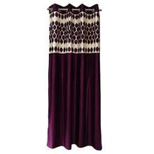 Long Crush Patch In Dark Pink Pendal Design Curtains