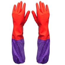 Reusable Latex Kitchen Hand Gloves (With Fleece Inside)