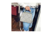 Geometric Design PU Leather Cross Body Bag For Women (41001404)