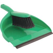 Dust Pan with Cleaning Brush