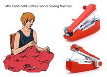 Portable Hand Sewing Machine-Red