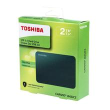 Toshiba Canvio Basics 2TB Portable External Hard Disk Drive USB 3.0
