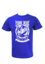 Wosa -Strom Inside printed T-shirt Blue Printed T-shirt For Men