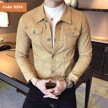 Men's Summer Slim Fit Denim Jacket