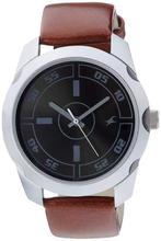 Fastrack 3123SL03 Casual Analog Black Dial Watch For Men