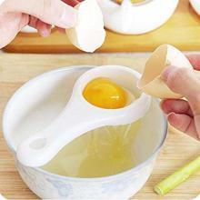 Kitchen Egg Yolk Separator Holder Divider Utensil Strainer