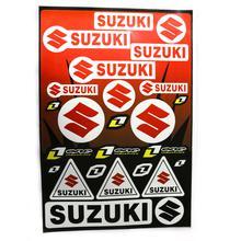 Decals (stickers) - Suzuki (Type 1)