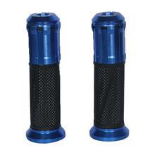 Black/Blue Bike Handlebar Grips