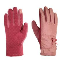 Wind Stopper Touch Screen Gloves For Ladies - Peach
