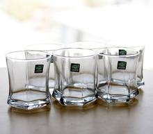 Green Apple Whiskey Glass JS-7201-1 (Pack of 6)-(HUL1)