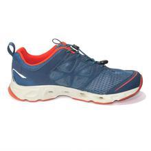 Navy/Orange Trekking Shoes For Men - KFEF81328