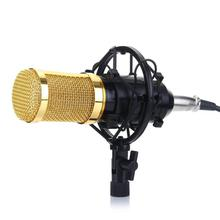 BM-800 Condenser Microphone Sound Recording Dynamic + Mic Shock Mount