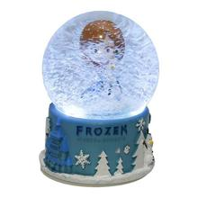 Blue Frozen Snow Globe Showpiece
