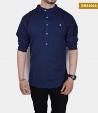Men Fashion Casual Summer Kurta Shirt