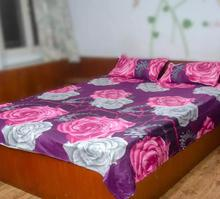 Pack of 4 Printed Cotton Multicolor Double BEDSHEET with 2 (Two) Pillow Cover