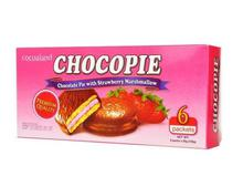 Cocoaland Chocopie With Strawberry Marshmallow (6 packs) (GEN1)