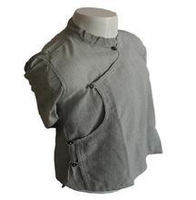 Light Grey Linen Bhoto