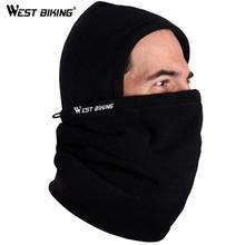 WEST BIKING  Bicycle Accessories Winter Fleece Bike Masks Collar