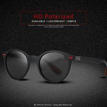 Tomhardy Classic Retro Rivet Polarized Sunglasses Lighter Design Oval Frame UV400 Protection