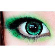 Fresh Look Powerless Contact Lens In Green Color