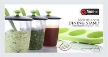 Shree Radhe Multipurpose Dining Set( Pack Of 3)