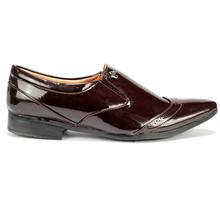 Cherry Shiny Formal Shoes For Men