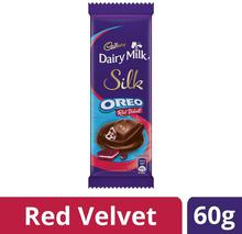 Cadbury Dairy Milk Silk Oreo Red Velvet, 60 gm