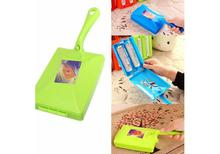 Handheld Carpet Brush/ Sweeper (Double Head Roller) Dirt Hair Cleaner Collector
