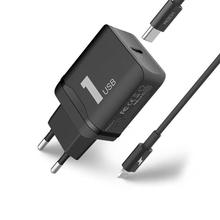 ROCK PD Fast Charging Set (T12 Single Port PD Travel Charger + USB-C / Type-C to 8 Pin PD Fast Charging Cable), For iPhone XR / iPhone XS MAX / iPhone X & XS / iPhone 8 & 8 Plus / iPhone 7 & 7 Plus / iPhone 6 & 6s & 6 Plus & 6s Plus / iPad(Black)