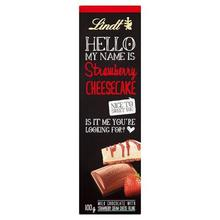 Lindt Hello Bar Strawberry Cheesecake 100gm