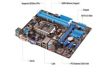 ASUS- Motherboard H61M-K