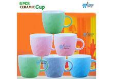 180 ML  6pcs Set Tea Cup