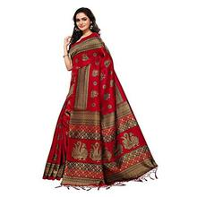 SALE - ANNI DESIGNER Silk Saree with Blouse Piece