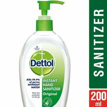 Dettol Hand Sanitizer, 200ml