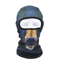 FashionieStore Face Mask Anti-fog Anti Respirator Anti Dust Haze 3D Animal Outdoor Ski Masks Bike Cyling Beanies Winter Wind Stopper Face Hats
