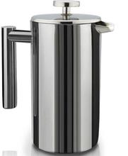 Double-Wall Stainless Steel Mirror Finish French Press Coffee- (1500 ml)