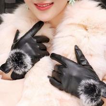Gloves Rabbit Fur For Winter Gloves