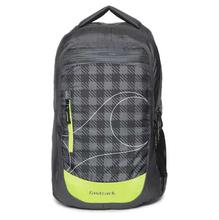 Fastrack Grey Textured Laptop Backpack For Men -A0706NGY01