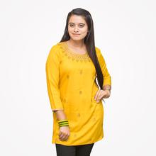 Womens Yellow Tops (LP - AF - K98)