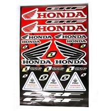 Decals (stickers) - Honda (Red)