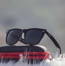 Tomhardy Wayfarer Unisex Sunglasses-Black